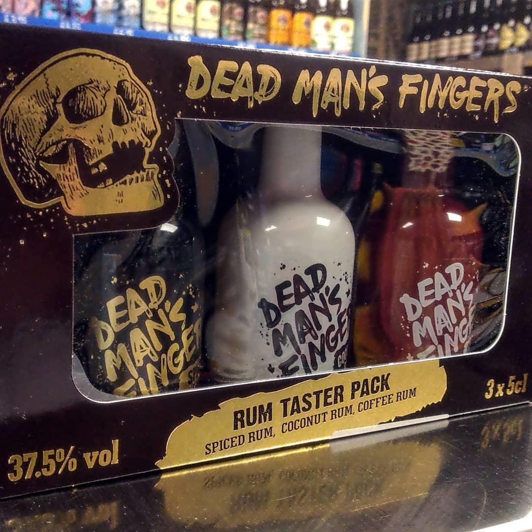 Dead Man's Fingers Rum Gift Pack 3 x 50ml 37.5% (150ml)