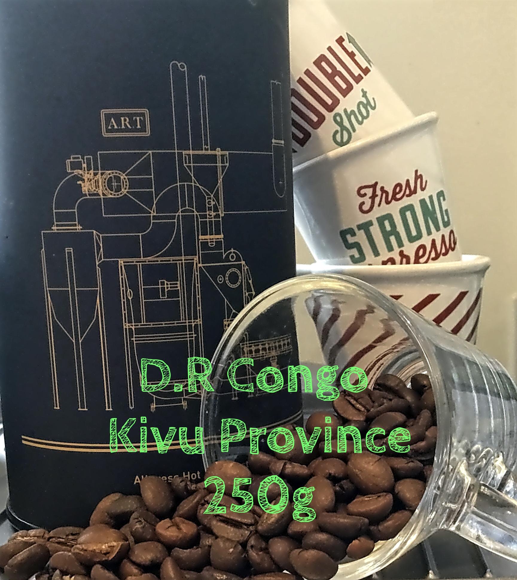 D.R. Congo Kivu Province 250g Single Origin