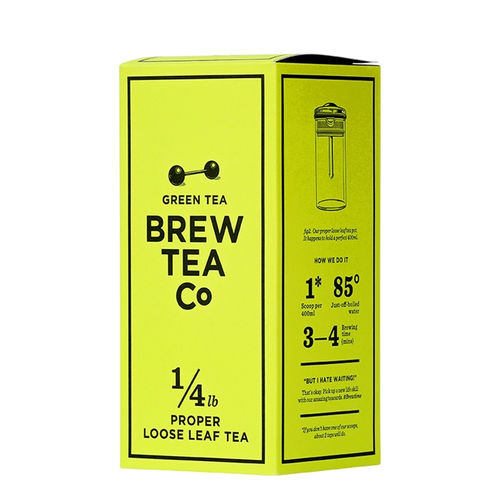 Green Tea Loose Leaf Tea 113g Brew Tea Co