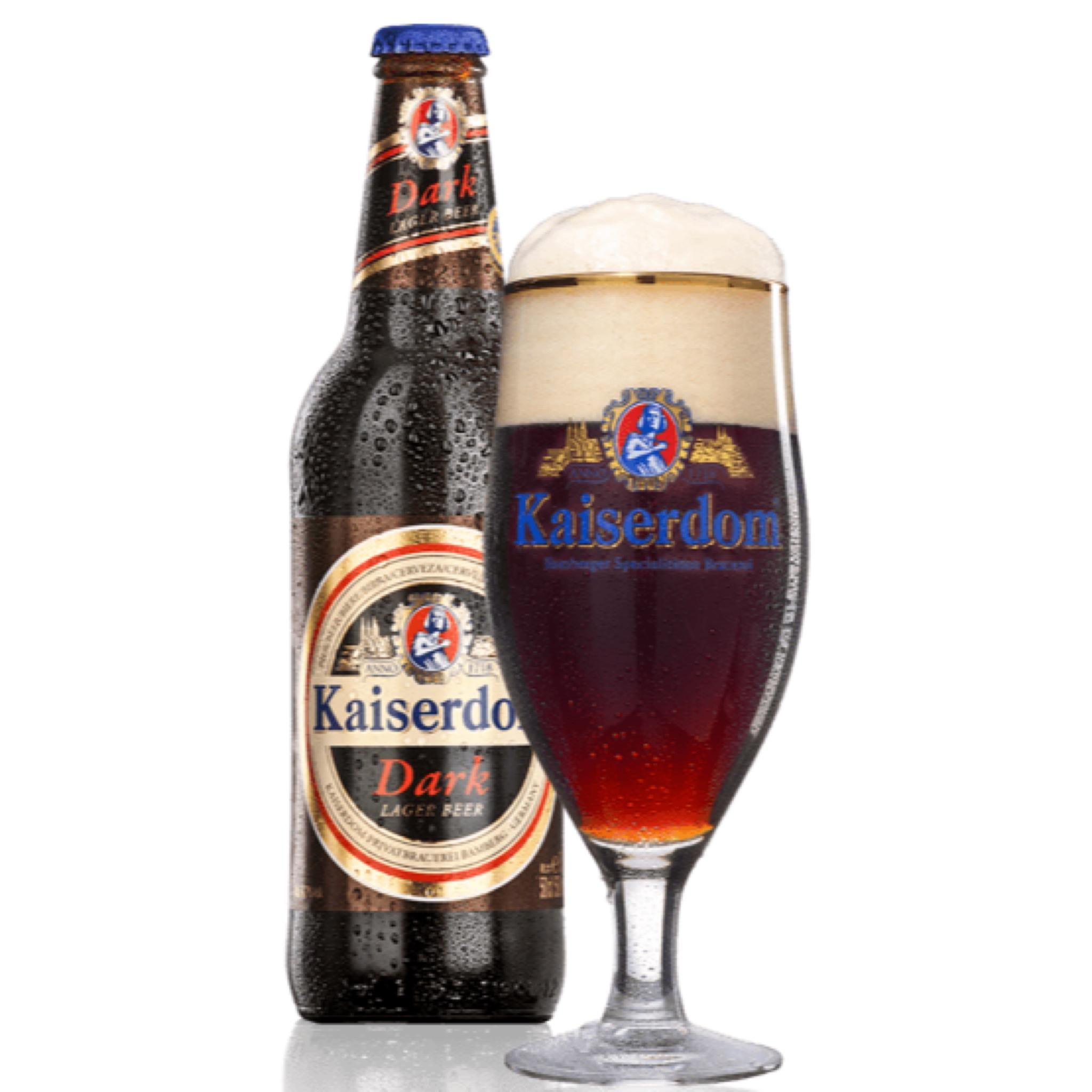 Kaiserdom Dark Lager Beer 4.8% 500ml