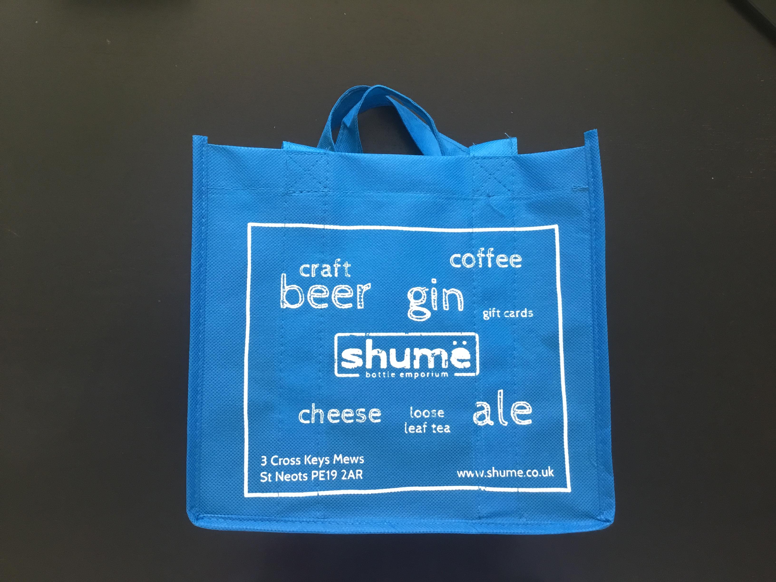 Blue Shumë Gift Bag