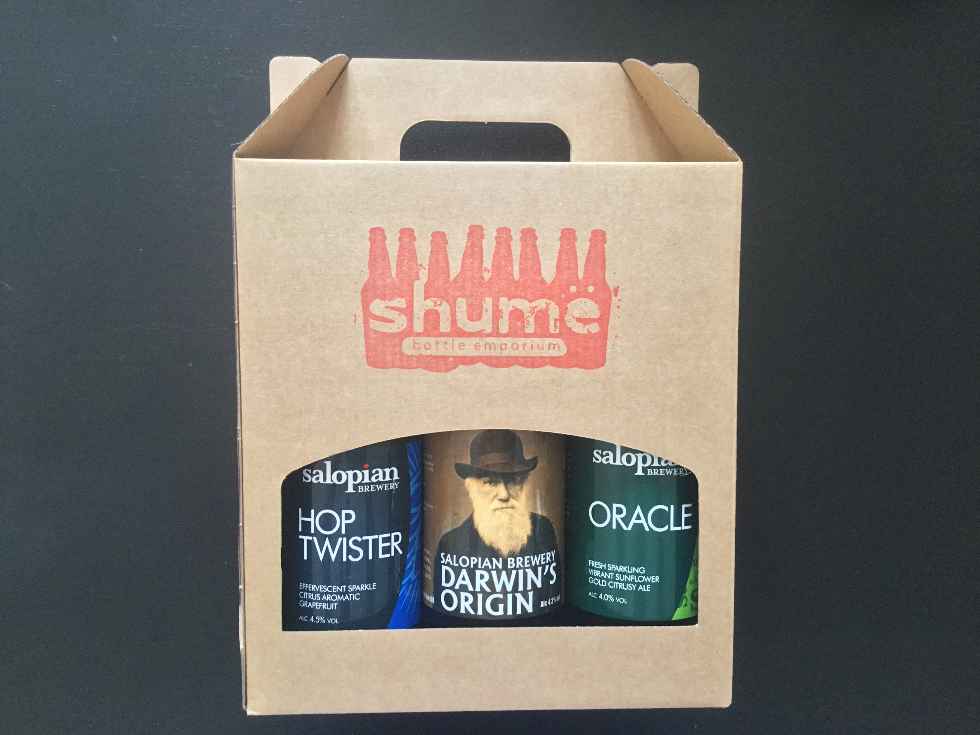 Hornes & Salopian Brewing Gift Box