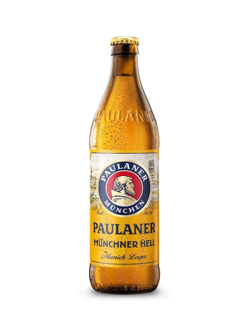 Paulaner Munchner Hell 4.9% 500ml