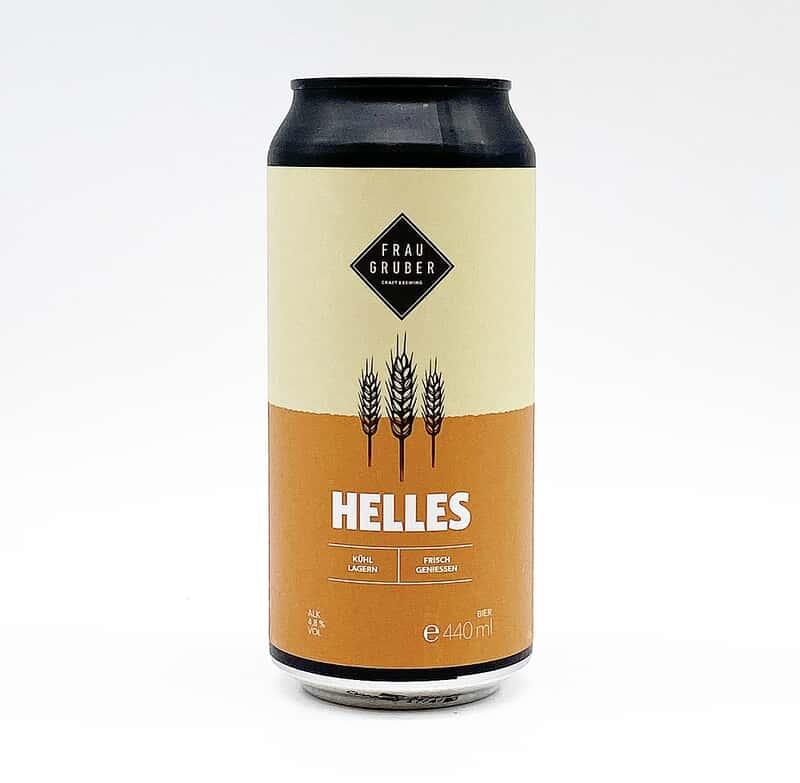 Helles 4.8% 440ml Frau Gruber Brewing