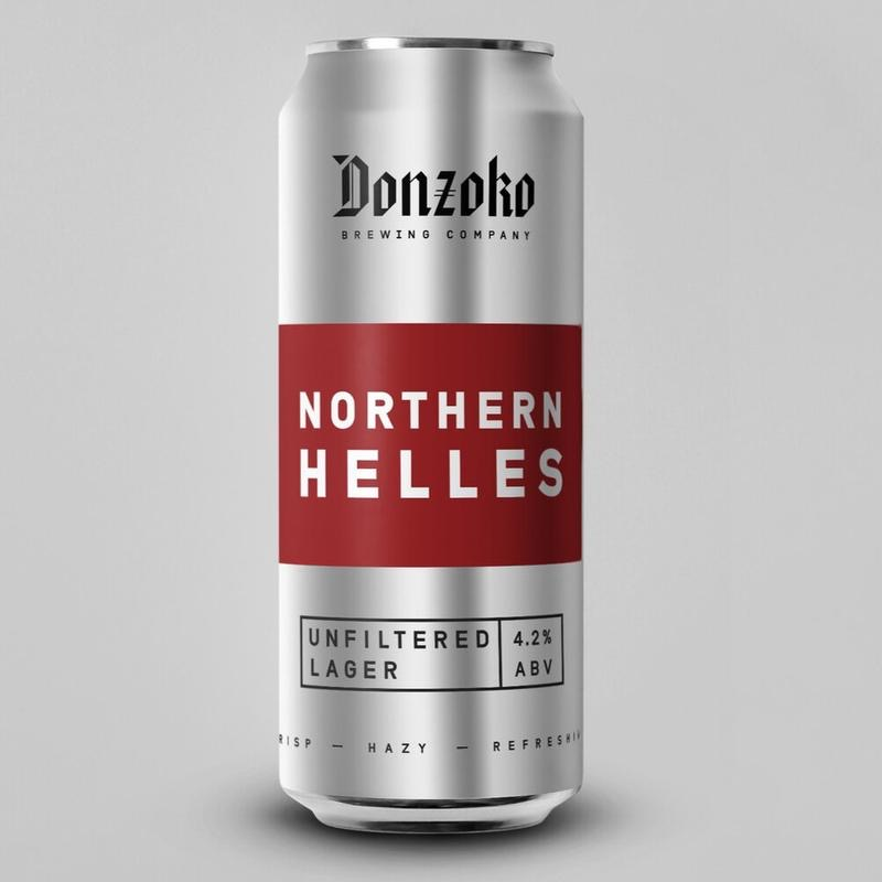 Northern Helles 4.2% 440ml Donzoko Brewing Co