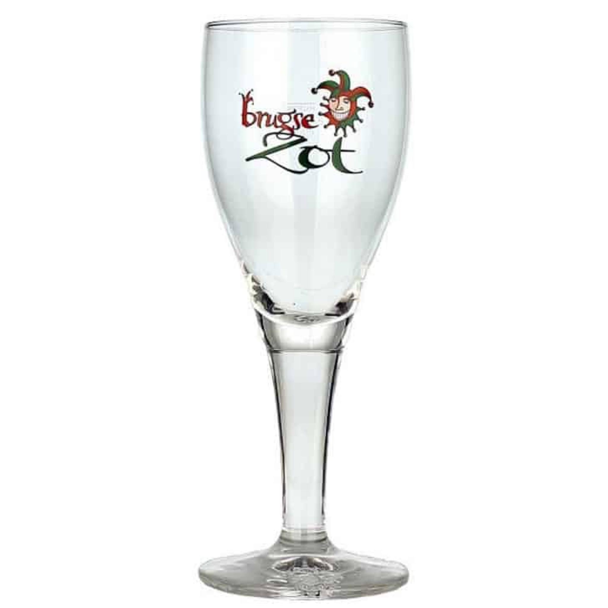 Brugse Zot Beer Glass 330ml