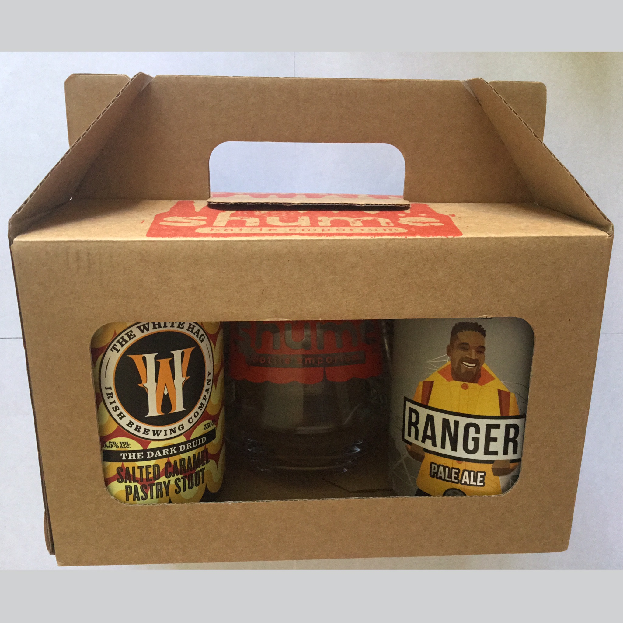 Four Beer & Shumë Glass Gift pack