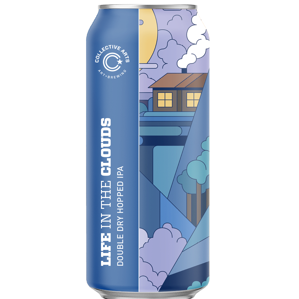 Life in the Clouds IPA 6.1% 473ml Collective Arts Brewing