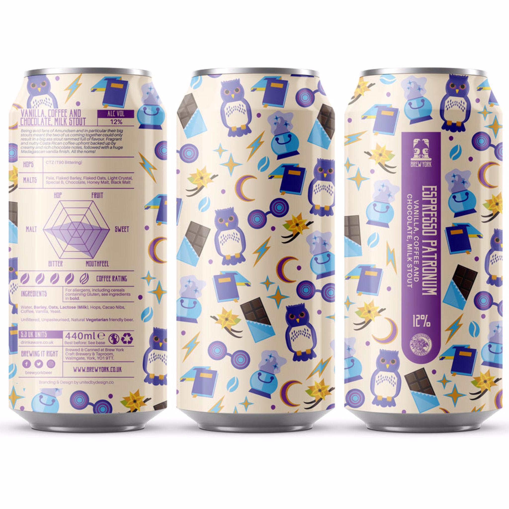 Espresso Patronum - Imperial Milk Stout 12% 440ml Brew York