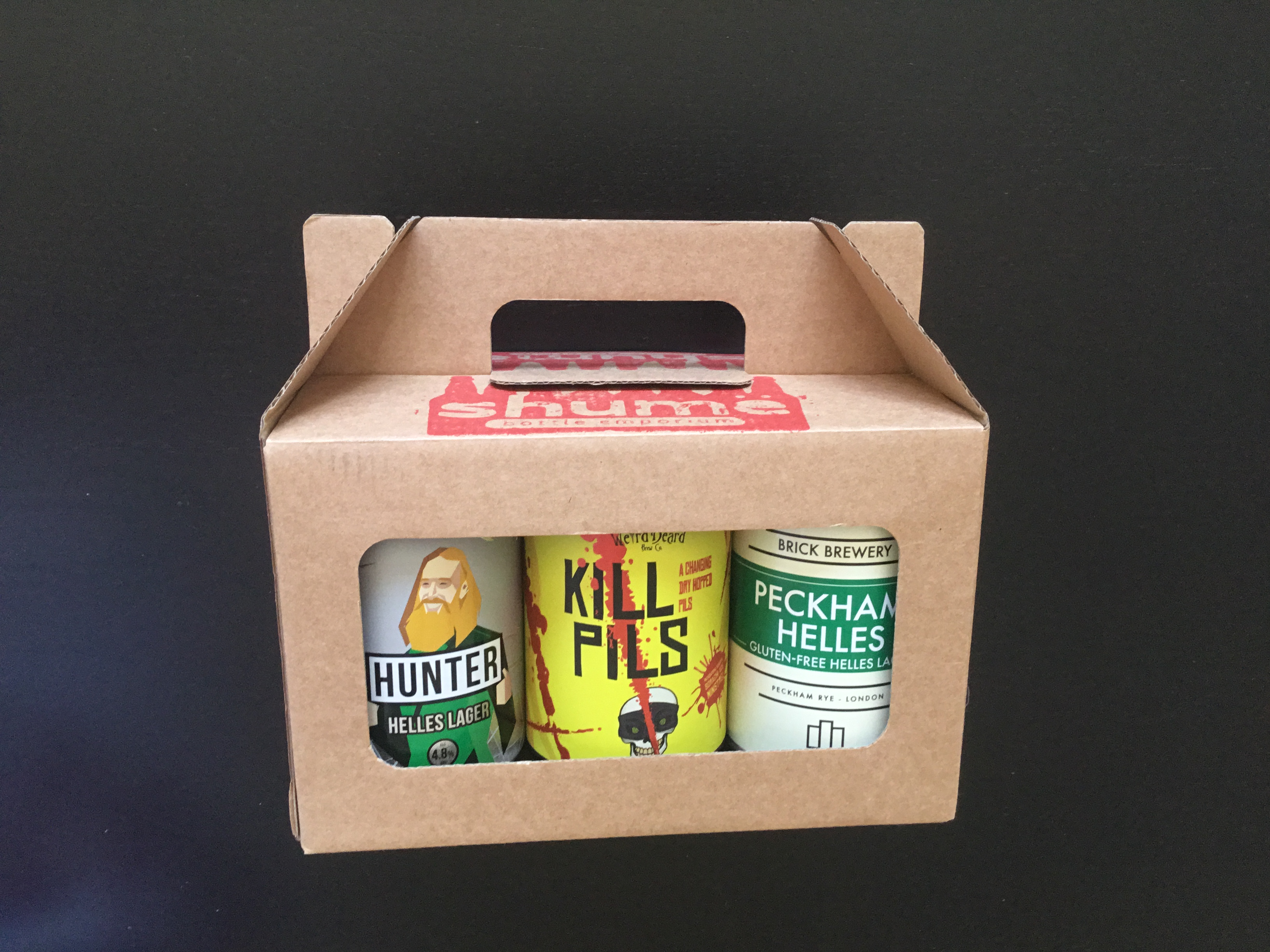 Lager Gift box (5 Lagers vs 1 Session IPA)