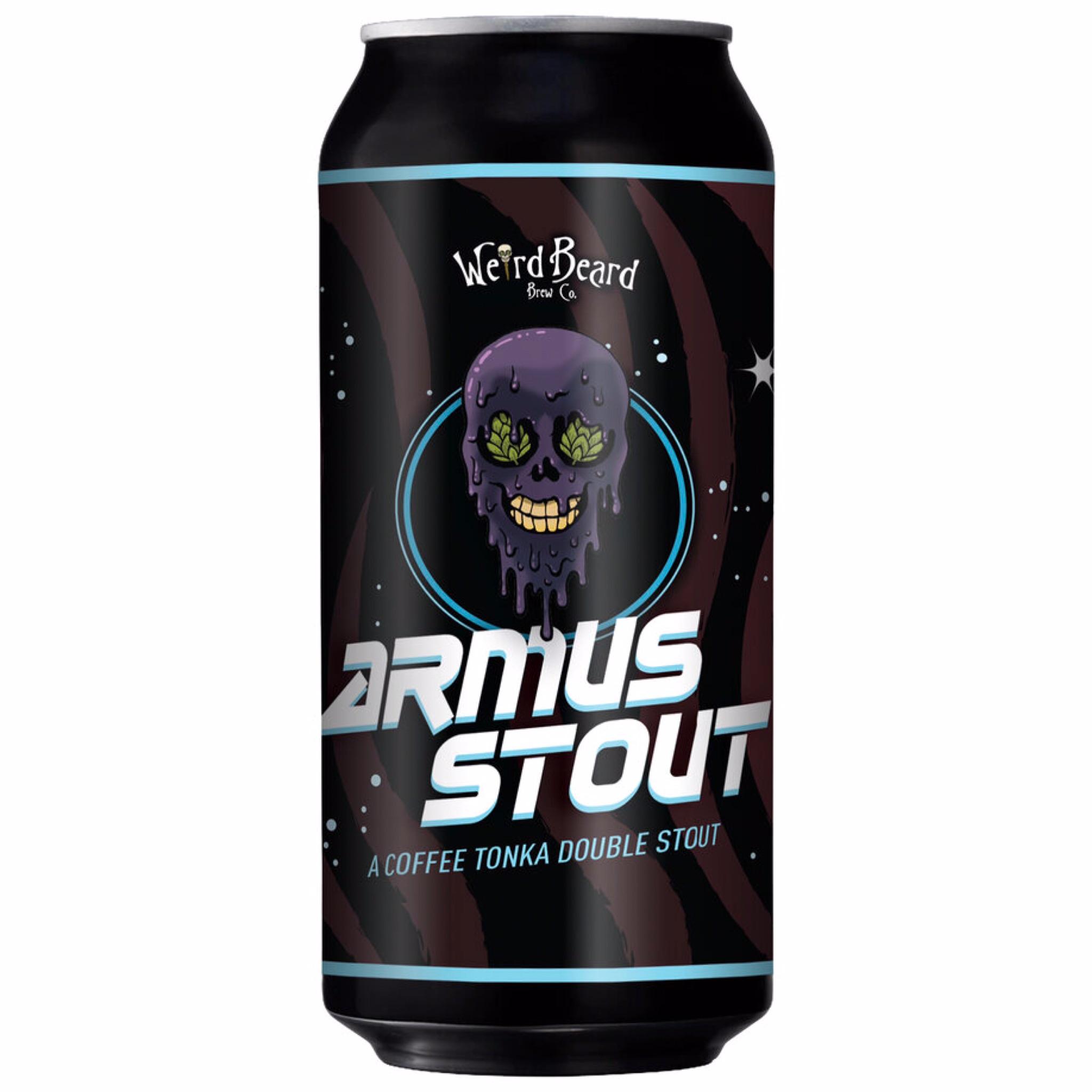 Armus Stout Coffee Tonka Doube Stout 8.5% 440ml Weird Beard Brew Co