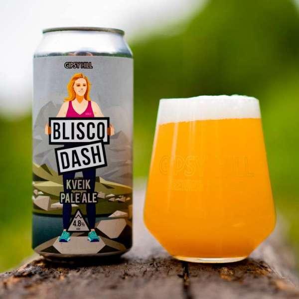 Blisco Dash Kveik Pale Ale 4.8% 440ml Gipsy Hill Brewing