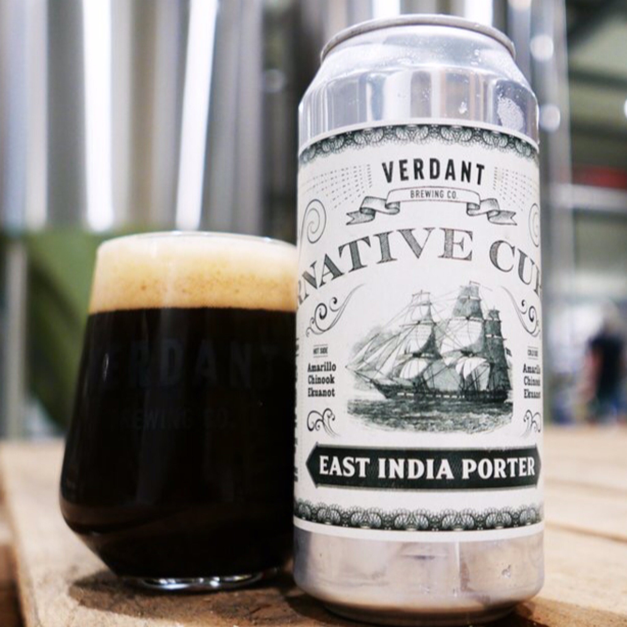 Alternative Currency East India Porter 5.8% 440ml Verdant Brewing Co