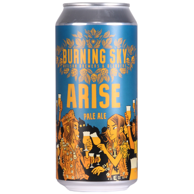 Arise Pale Ale 4.4% 440ml Burning Sky Brewing