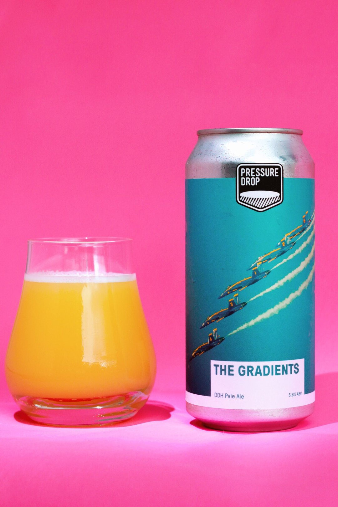 The Gradients - NE Pale Ale 5.8% 440ml Pressure Drop Brewing