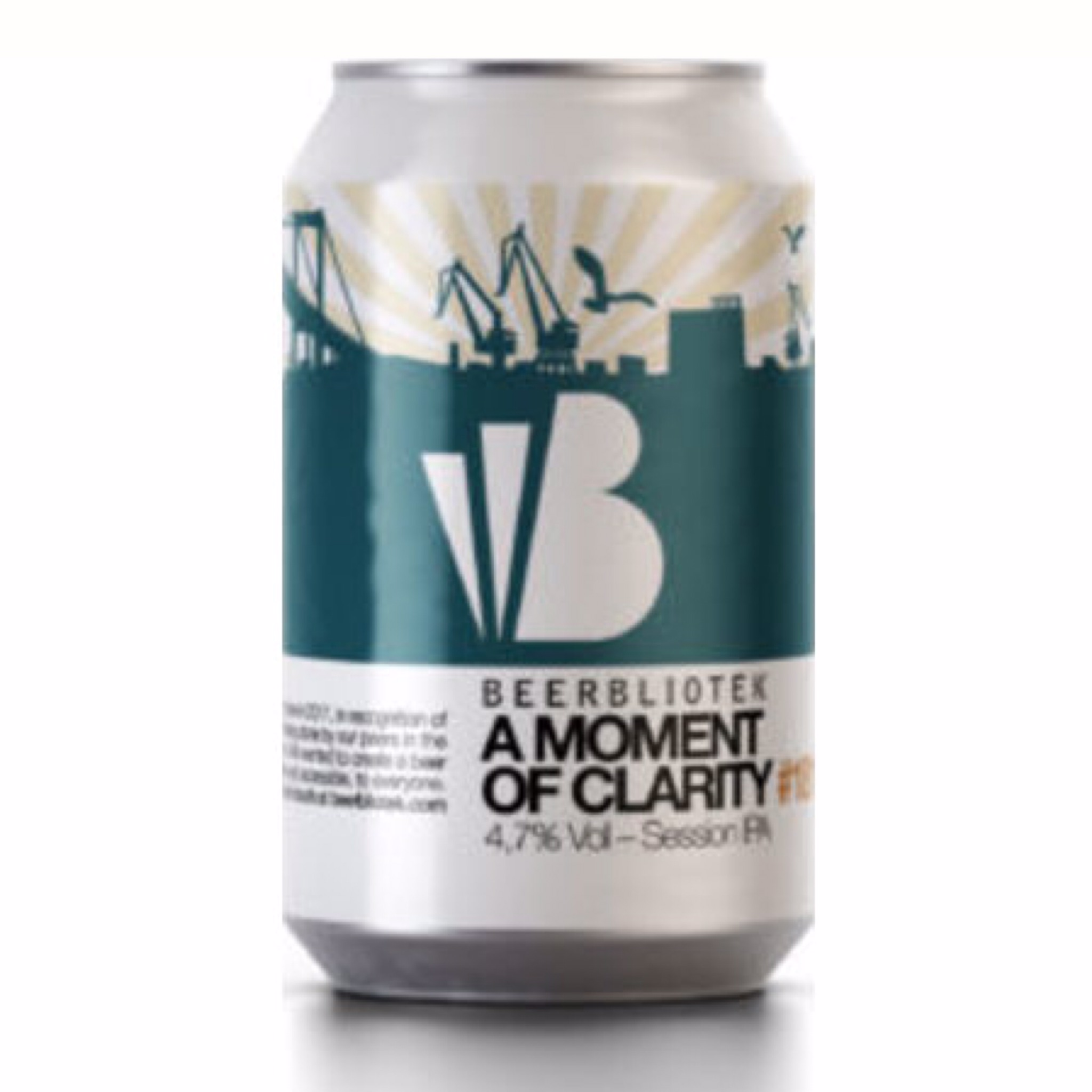 A Moment of Clarity Session IPA 4.7% 330ml Beerbliotek