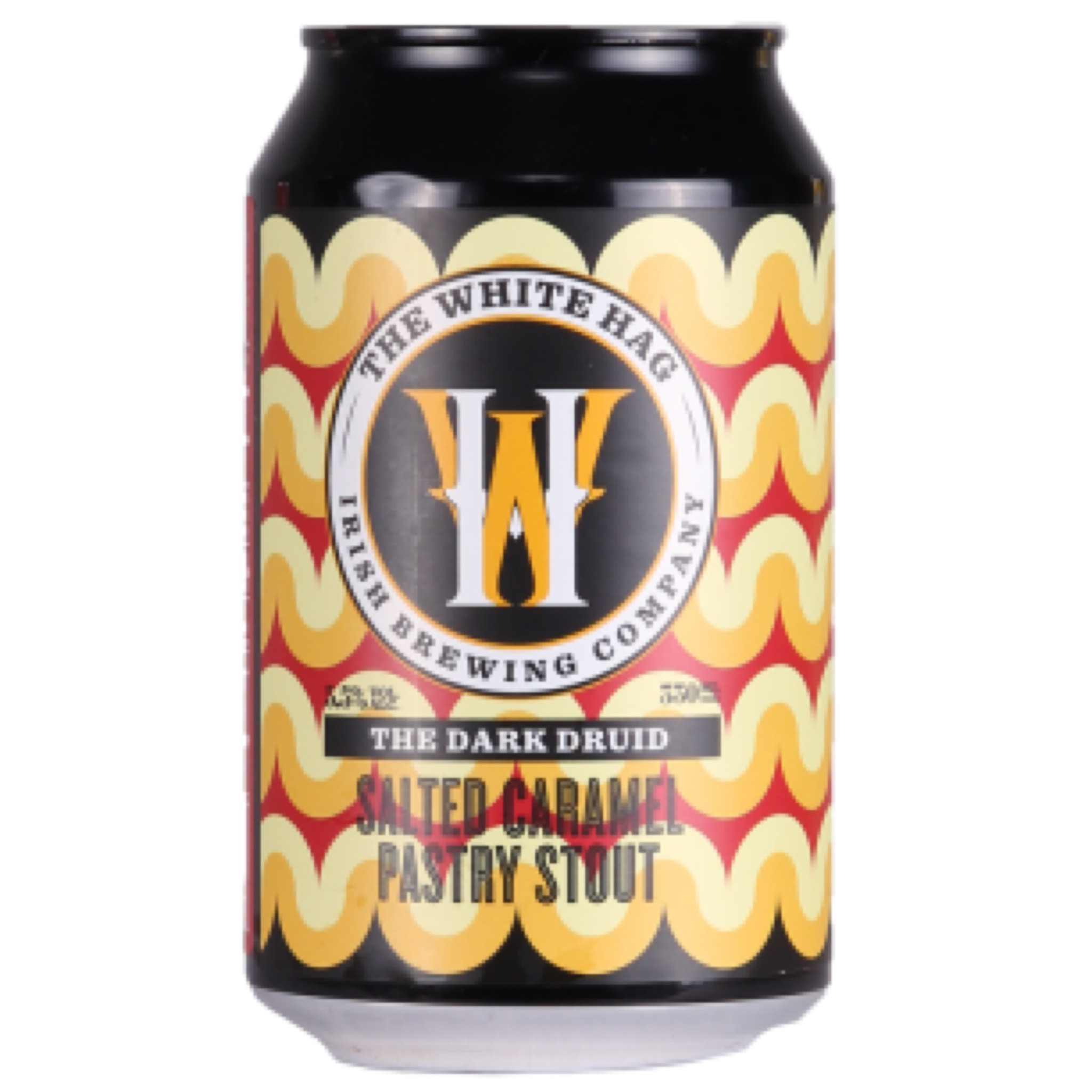 The Dark Druid Salted Caramel Pastry Stout 5.5% 330ml The White Hag Brewing