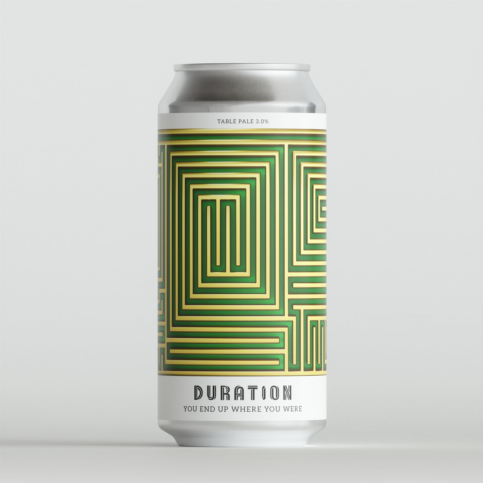You End Up Where You Were Table Pale 3% 440ml Duration Brewing