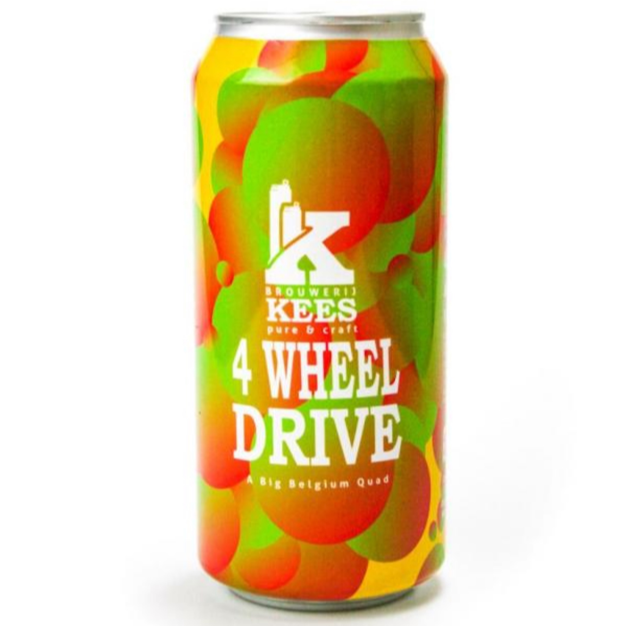 4 Wheel Drive Belgian Quad 10.2% 440ml  Brouwerij Kees