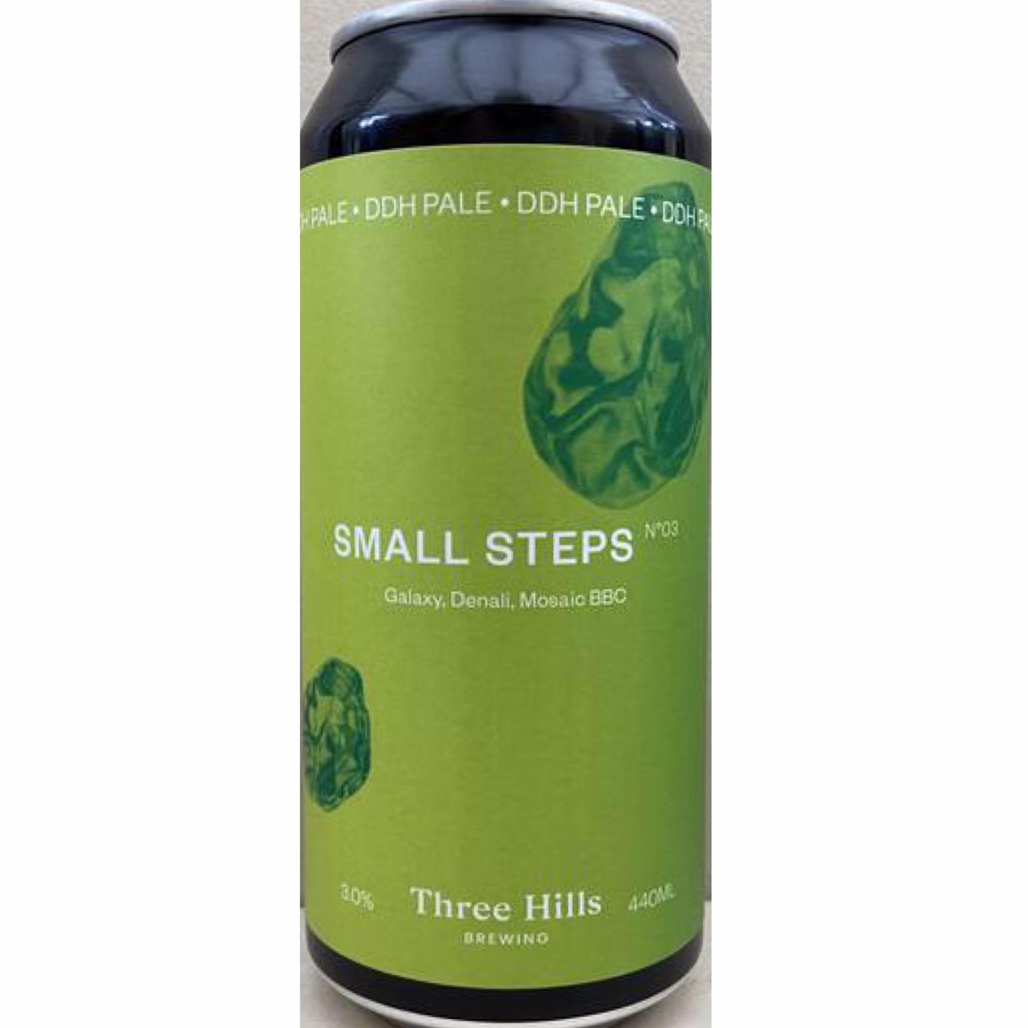 Small Steps No.3 DDH Pale 3% 440ml Three Hills Brewing