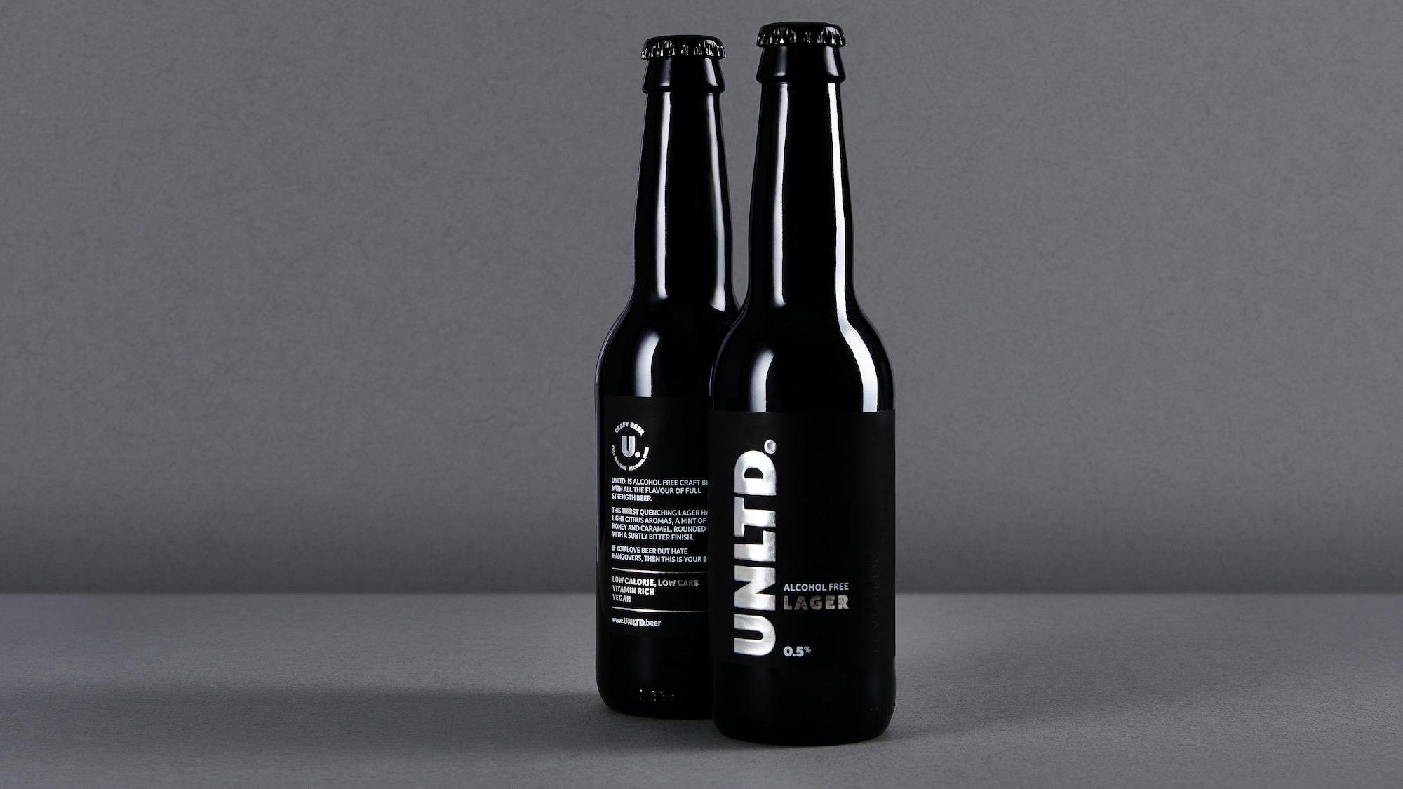 Alcohol Free Lager 0.5% 330ml UNLTD