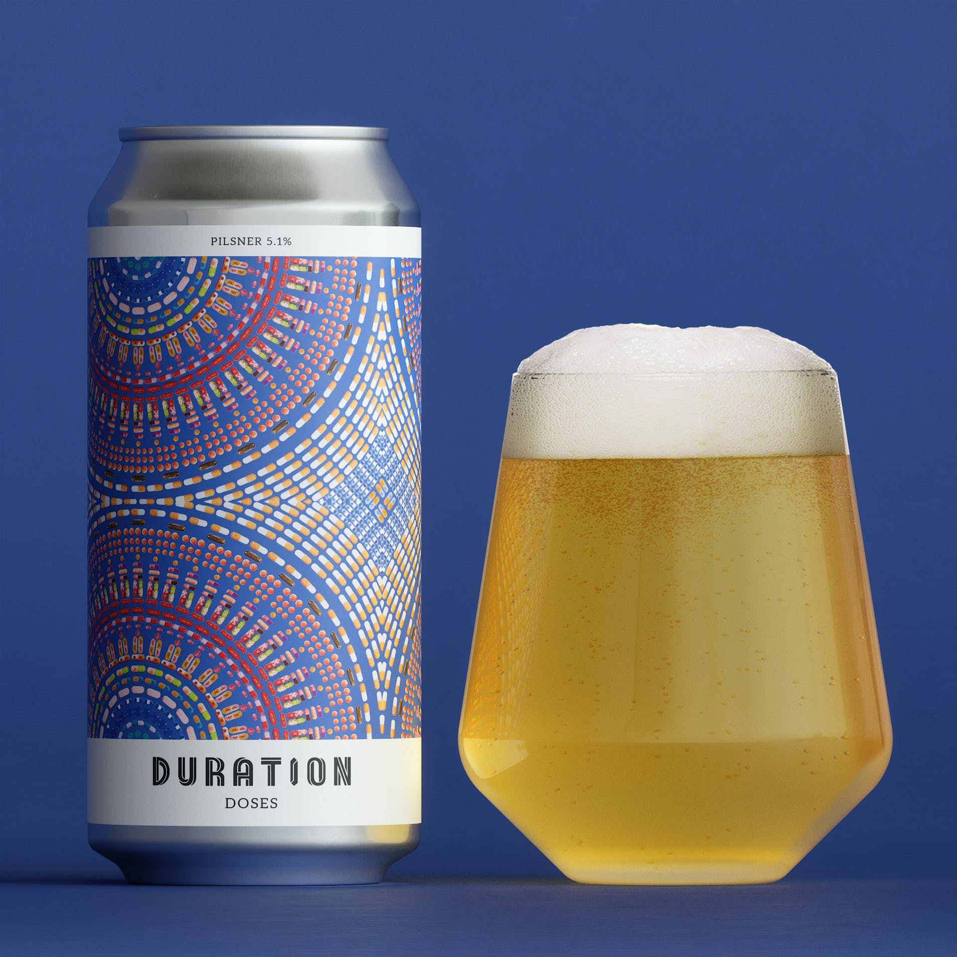 Doses Pilsner 5.1% 440ml Duration Brewing