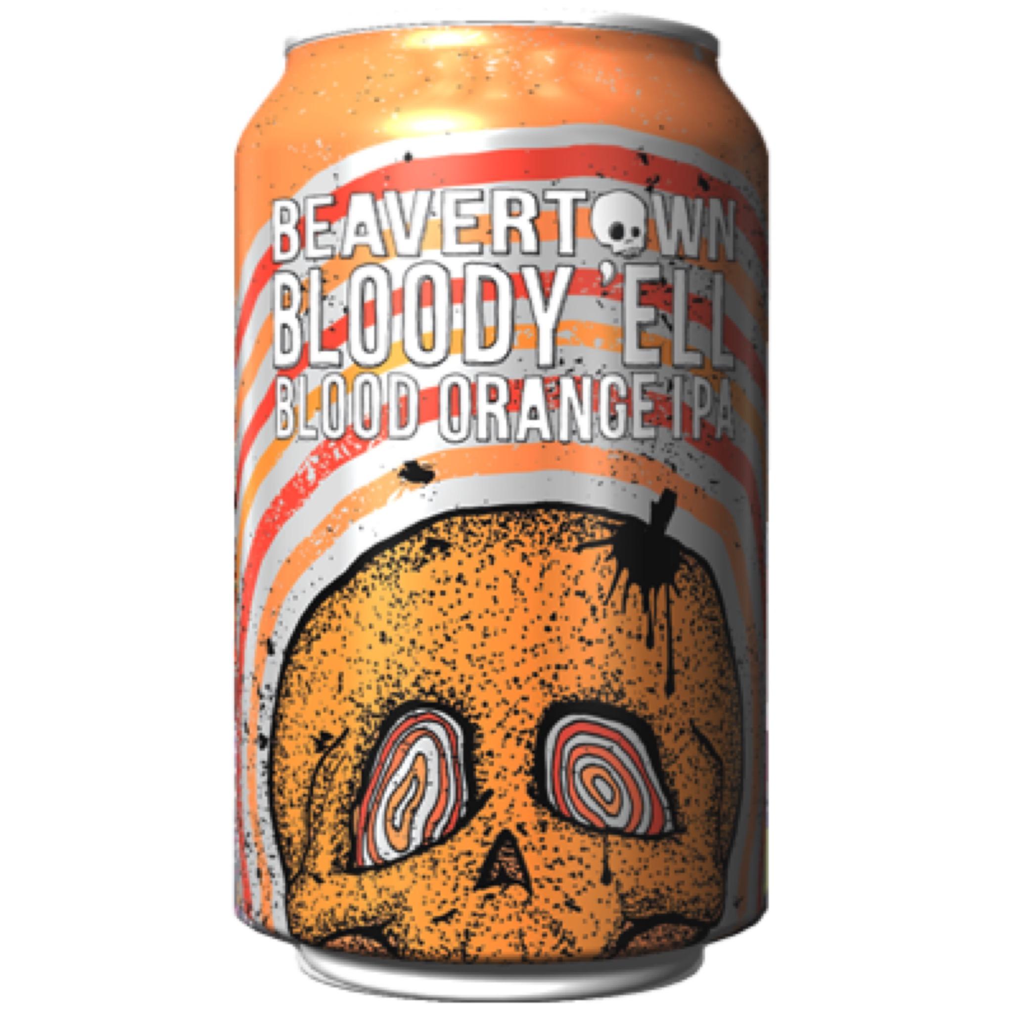 Bloody 'Ell Blood Orange IPA 5.5% 330ml Beavertown Brewing