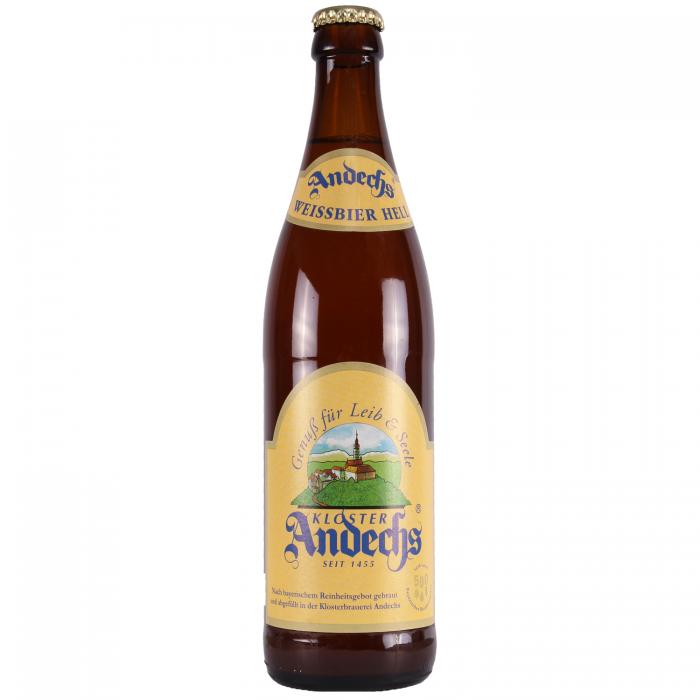 Andechs Weissbier Hell 5.5% 500ml