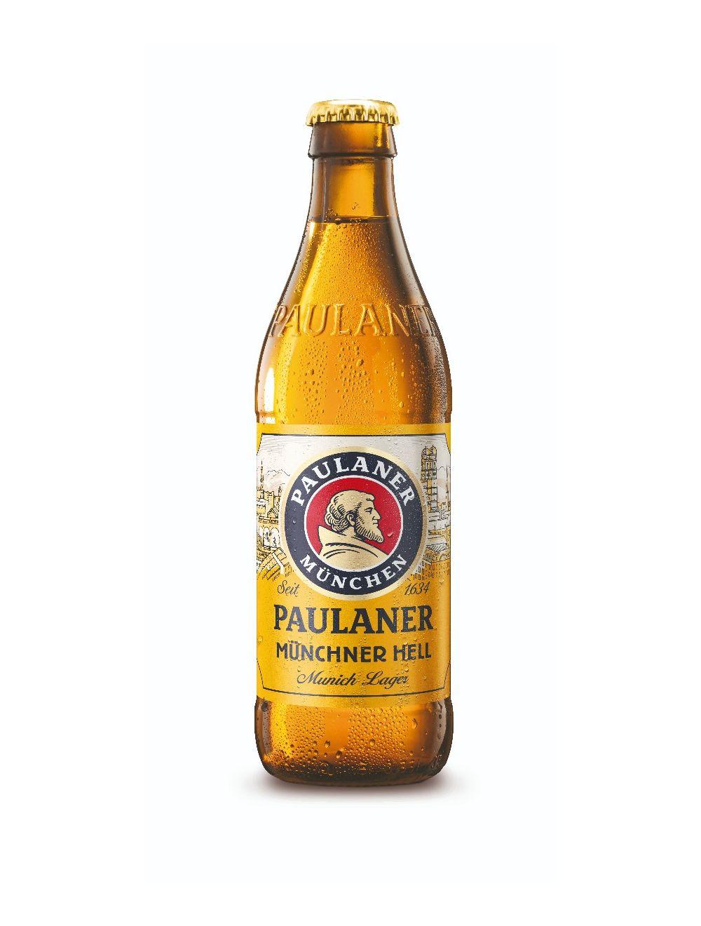 Paulaner Munchner Hell 4.9% 330ml
