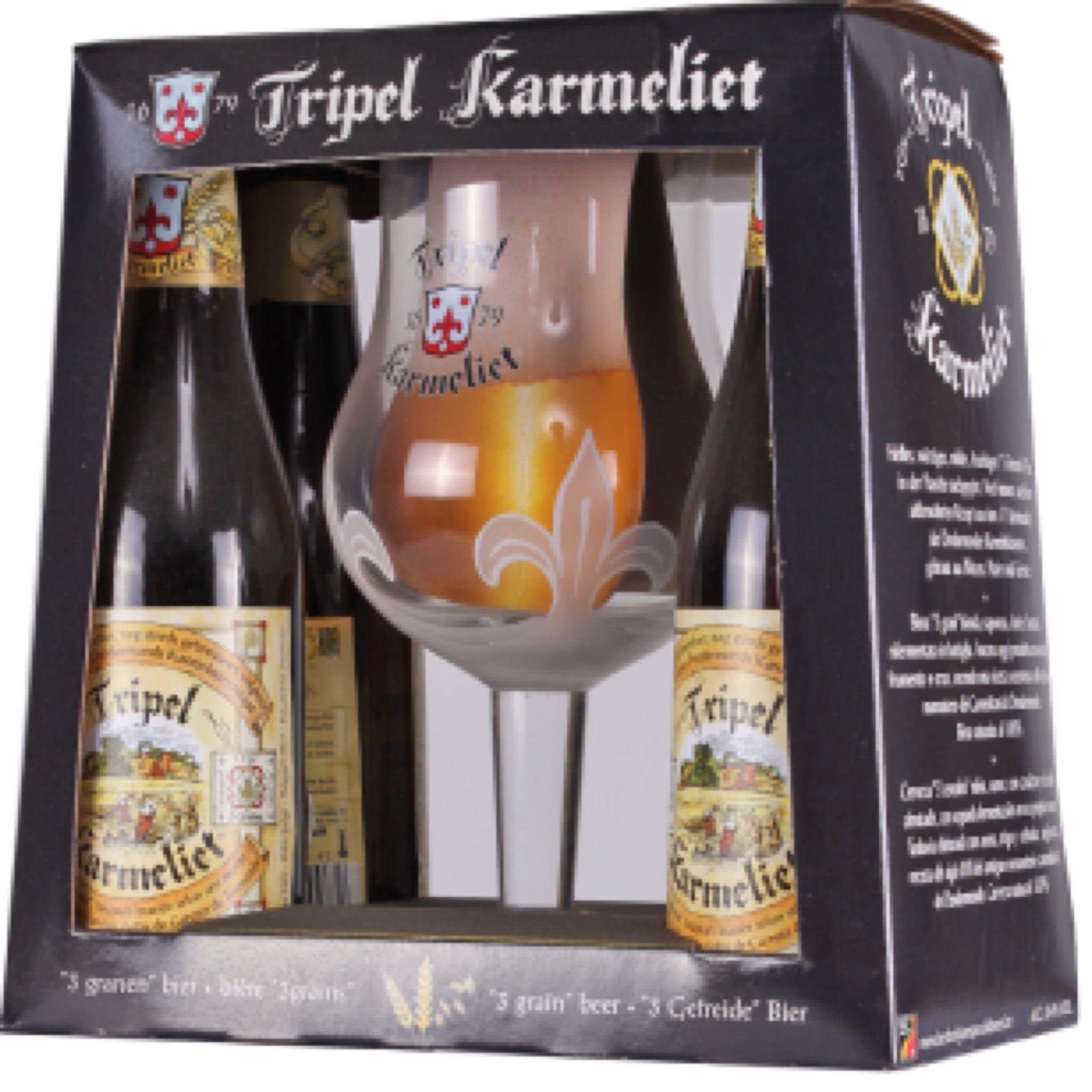 Tripel Karmeliet Gift Pack 4x330ml + 1 Glass
