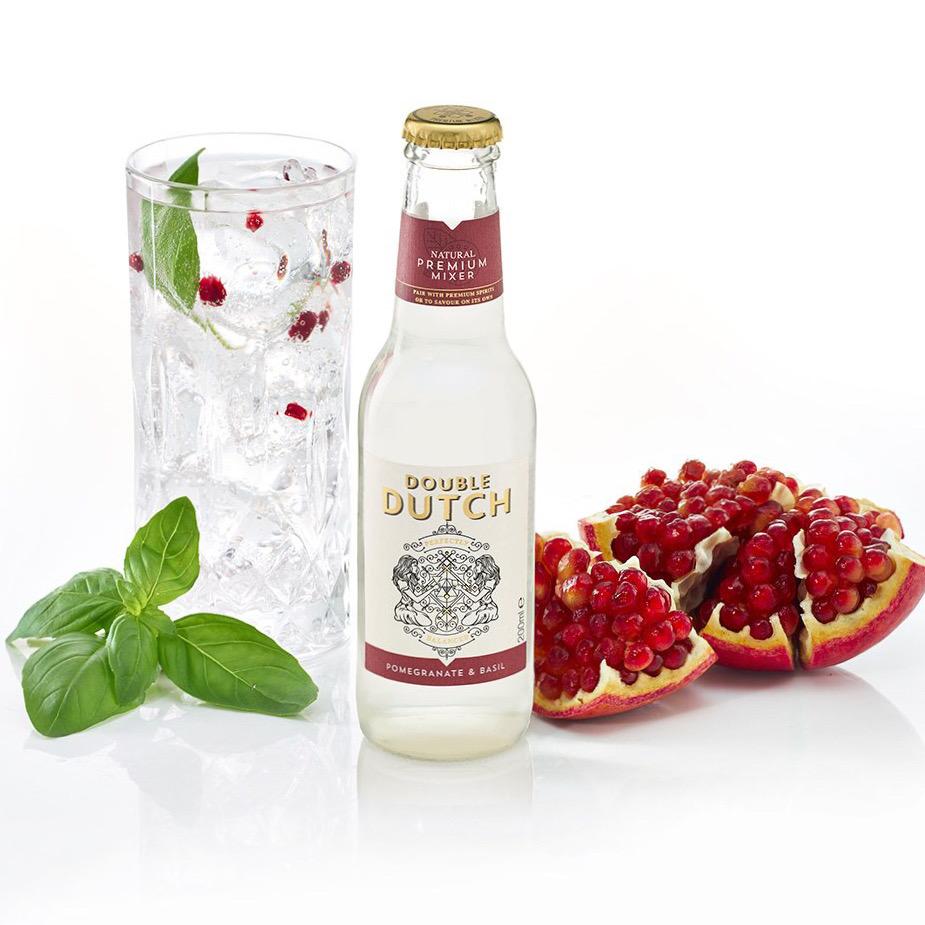 Double Dutch Pomegranate & Basil Tonic Water 200ml
