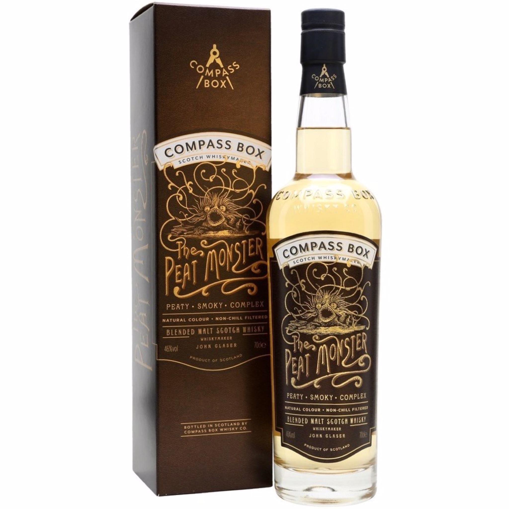 The Peat Monster - Blended Malt Scotch Whisky 46% 700ml Compass Box