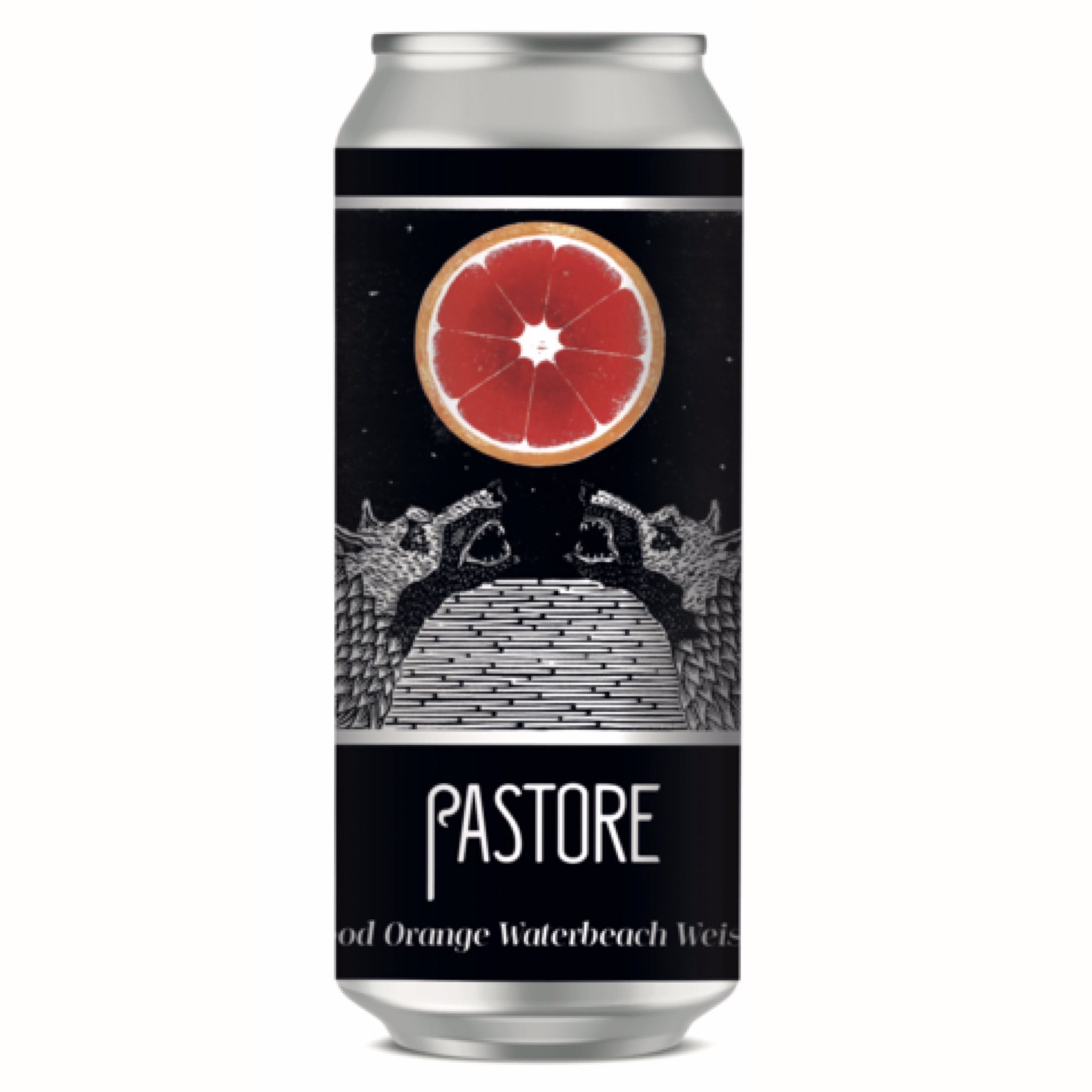 Blood Orange Waterbeach Weisse 3.8% 440ml Pastore Brewing & Blending