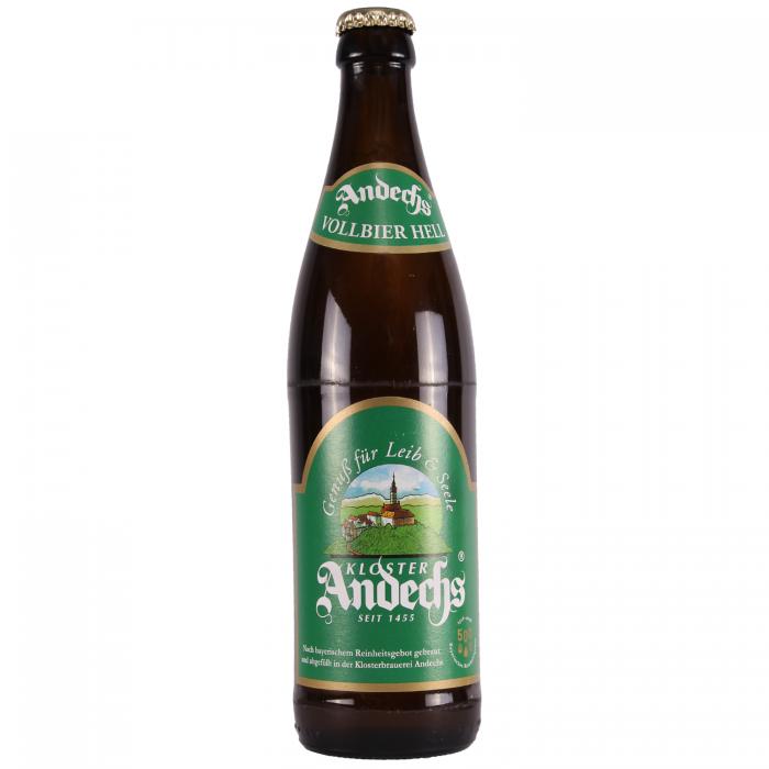 Andechs Vollbier Hell 4.8% 500ml