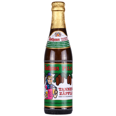 Rothaus Pils Tannenzäpfle 5.1% 330ml Rothause Brewery