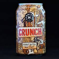 Crunch - Peanut Butter Milk Stout 5.4% 330ml Hammerton Brewing