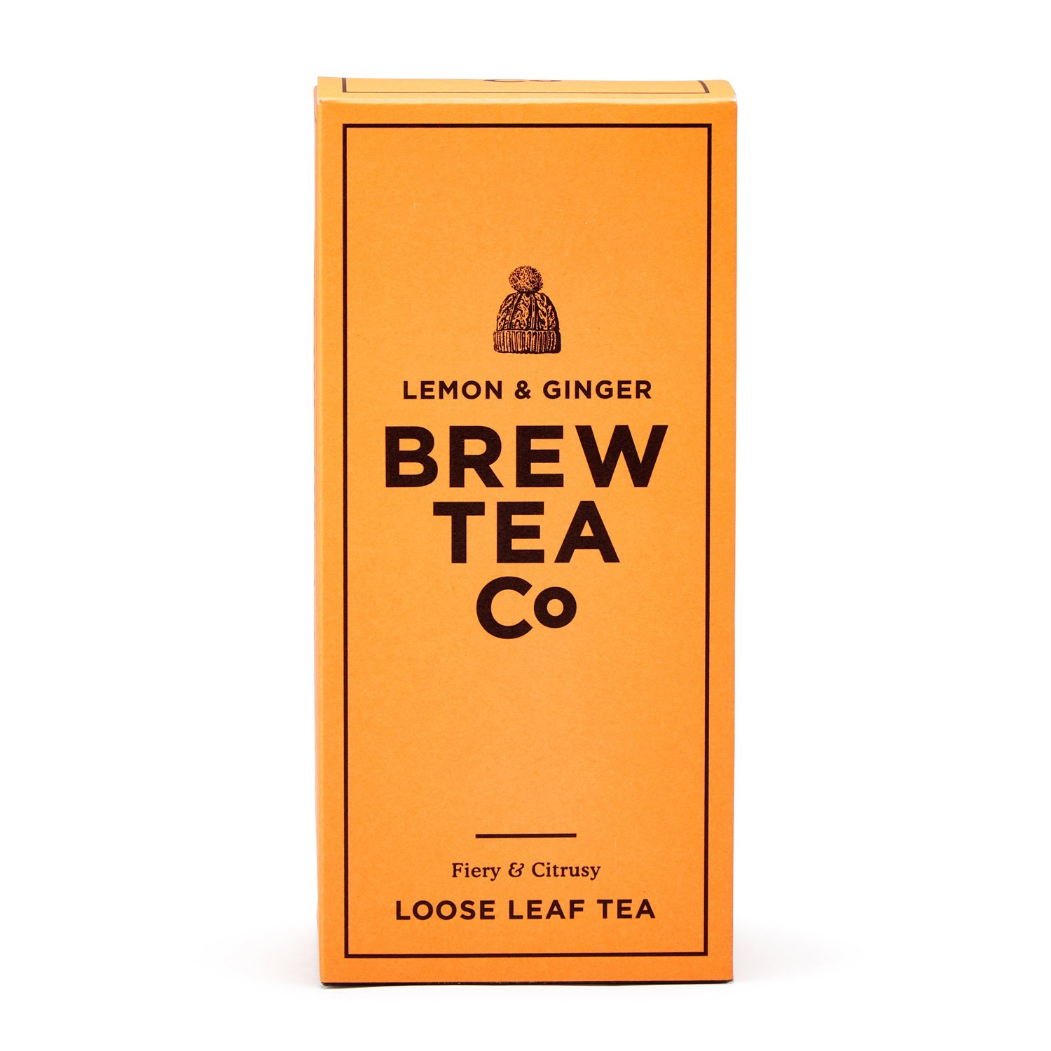 Lemon and Ginger Loose Leaf Tea 113g Brew Tea Co