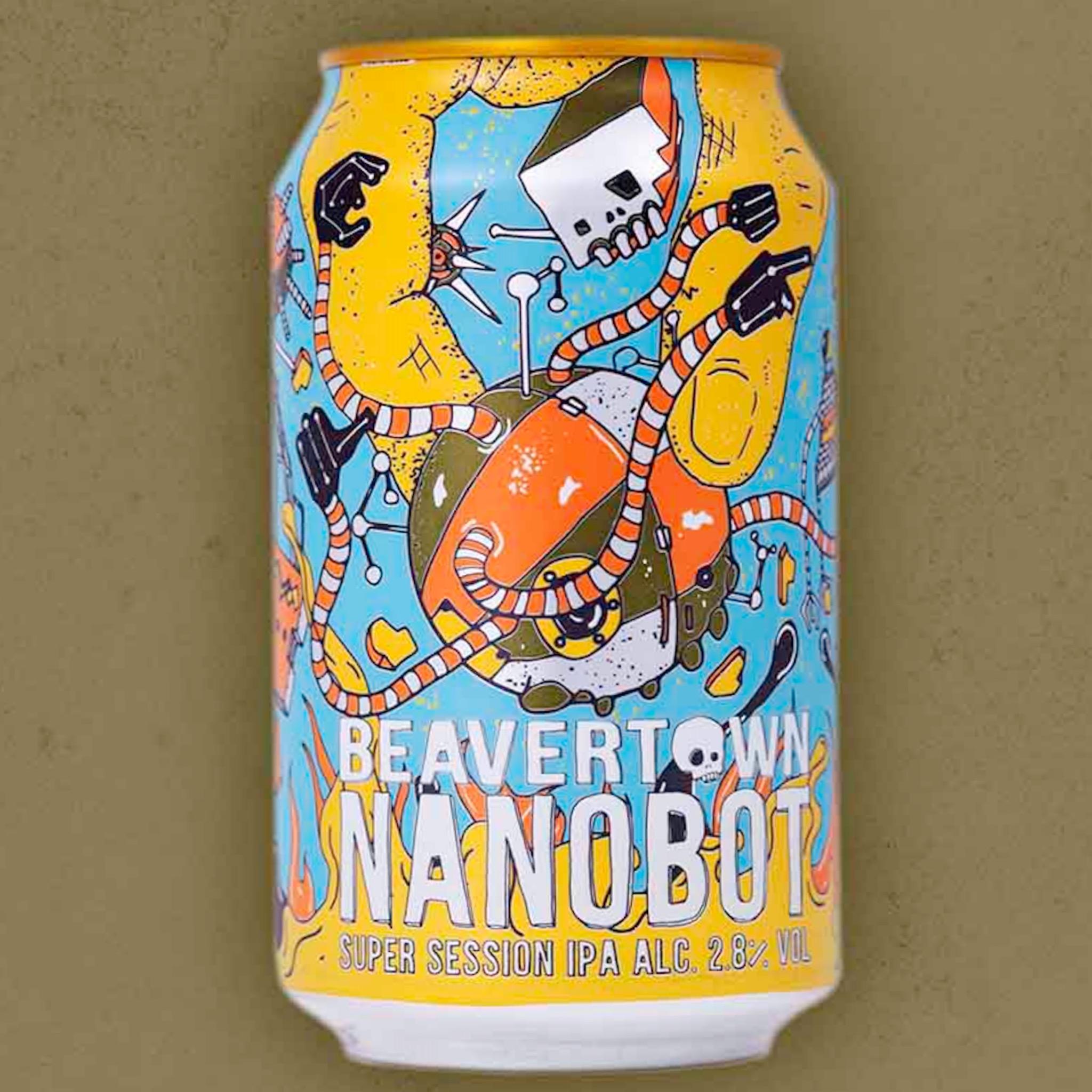 Nanobot Session IPA 2.8% 330ml Beavertown Brewing