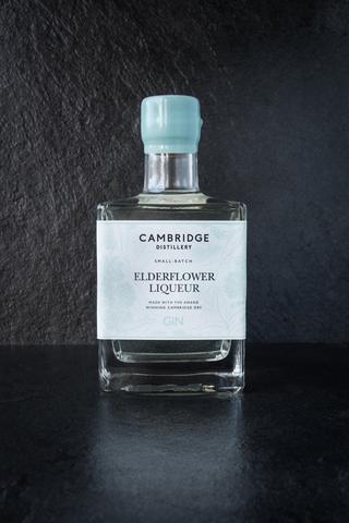 Elderflower Gin Liqueur 21% 500ml Cambridge Distillery