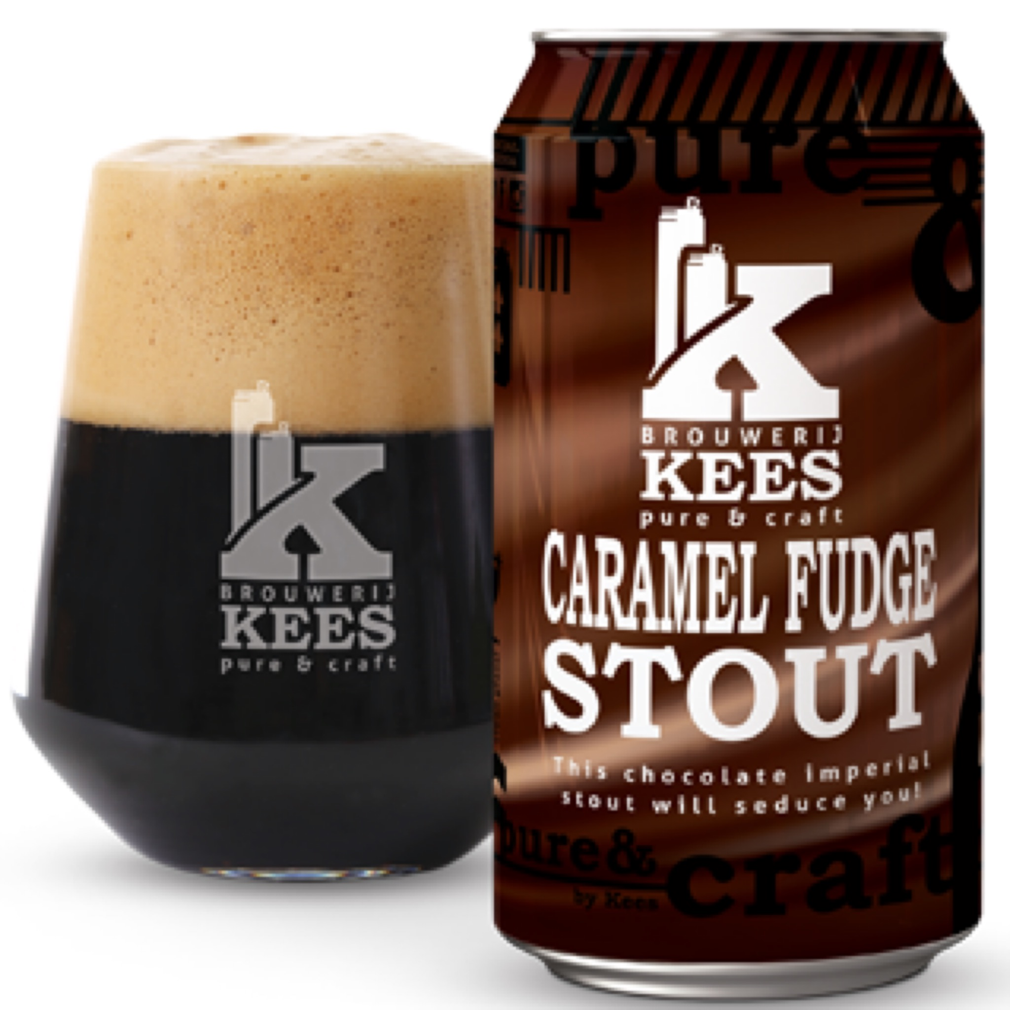 Caramel Fudge Stout 11.5% 330ml Brouwerij Kees