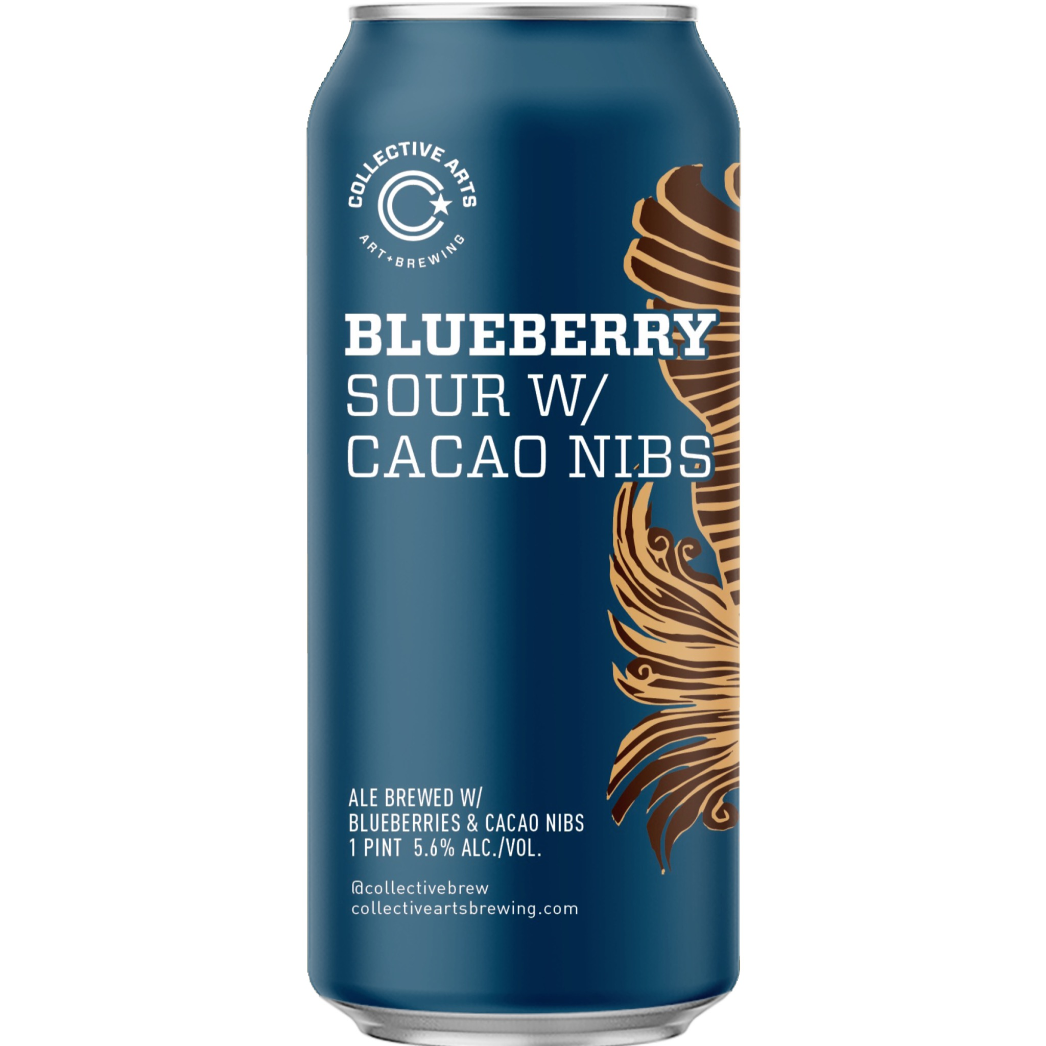 BLUEBERRY SOUR W/ CACAO NIBS 5.6% 473ml Collective Arts Brewing