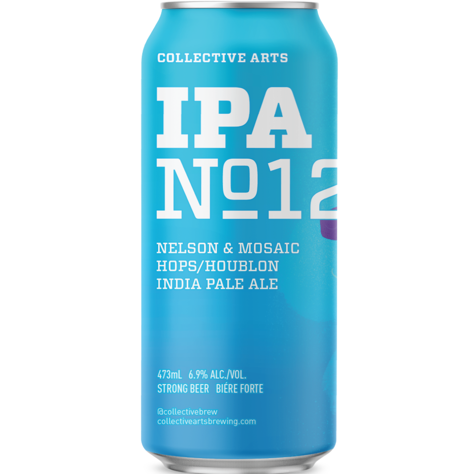 IPA 12 6.9% 473ml Collective Arts Brewing