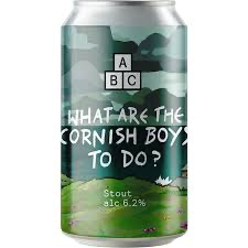 What Are The Cornish Boys To Do? - Stout 6.2% 330ml Alphabet Brewing