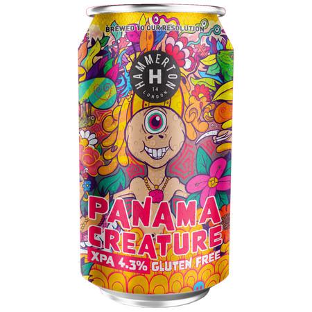 Panama Creature Extra Pale Ale - Gluten Free 4.3% 330ml Hammerton Brewing