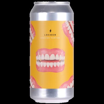 Locker Session Porter 4.5% 440ml Garage Beer Co