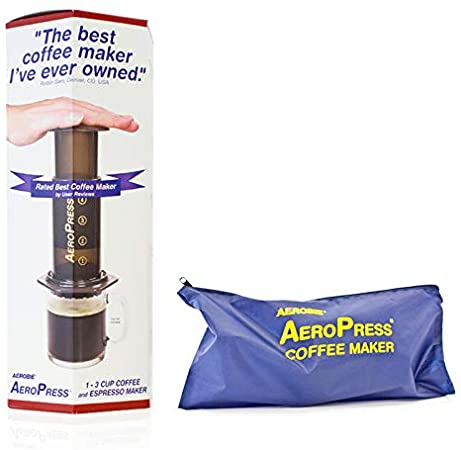 AEROPRESS COFFEE MAKER +TOTE BAG + 350 filters