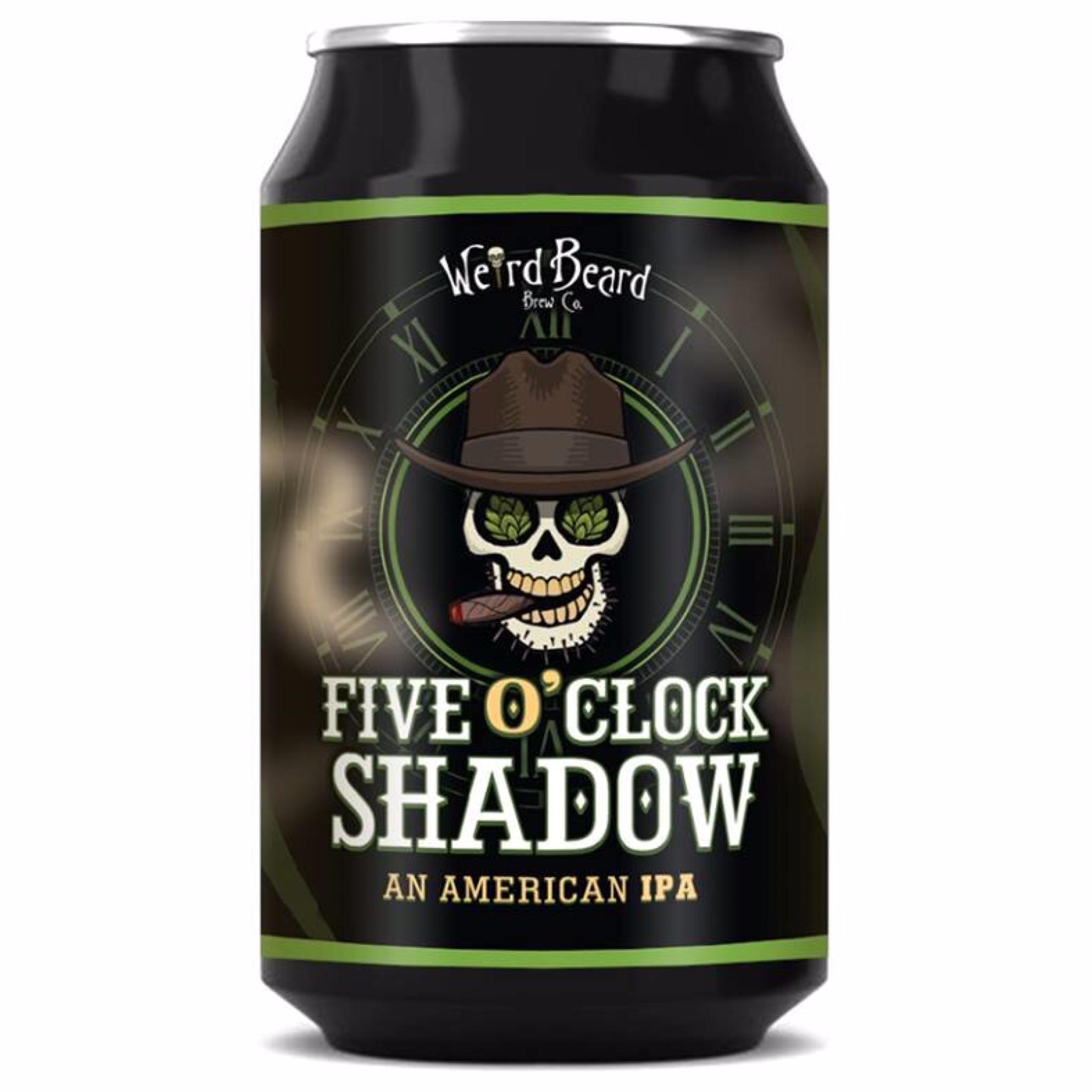 Five O'Clock Shadow American IPA 7% 330ml Weird Beard Brew Co