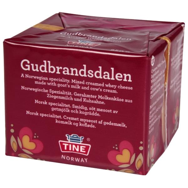 GJETOST Gudbrandsdalen Tine Norway 250g