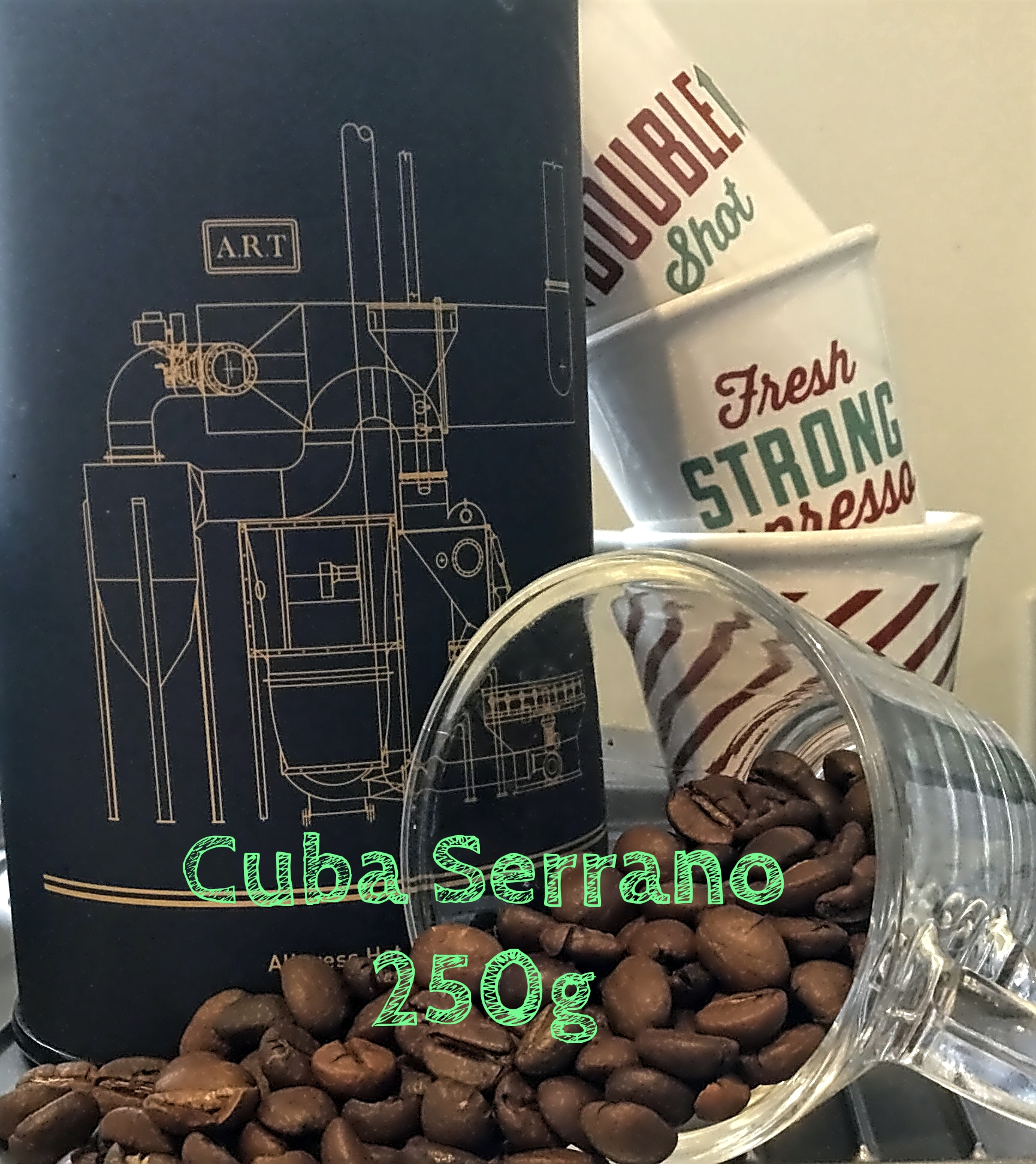 Cuba Serrano 250g Single Origin Coffee