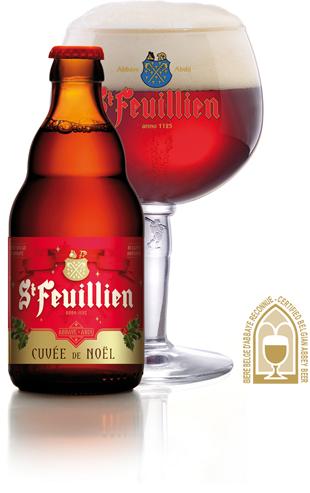 St Feuillien Cuvee de Noel 9% 330ml